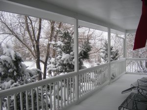 Front Porch - 8 inches